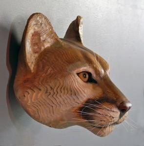 mountain-lion-wood-mask