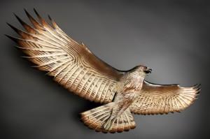 hawk.woodcarving.jason.tennant